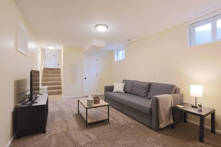 Beautiful Lower Level Suite!