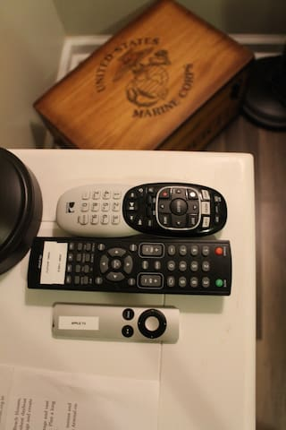 Remotes provided
