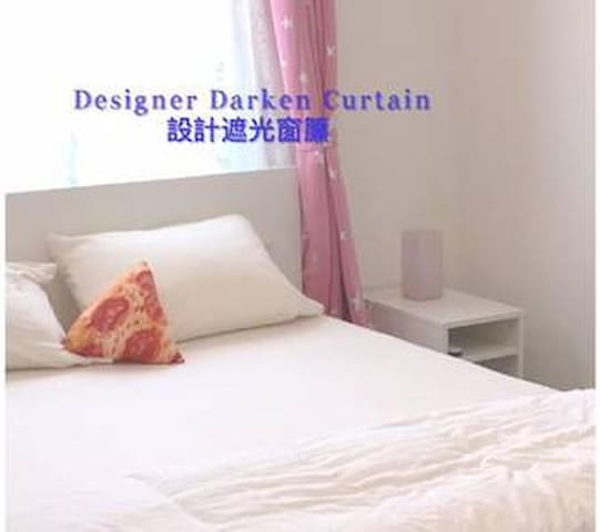 N-201  30+ Day Stay: Stylish Suite (incl bathroom)