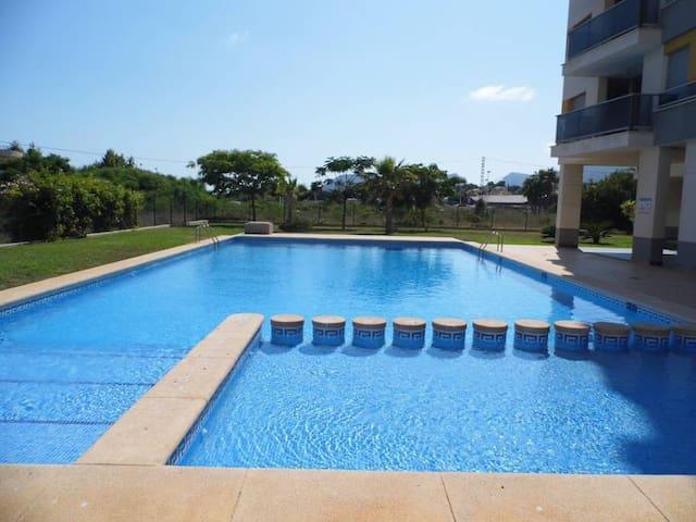 Calpe nieuw appartement, 3 slaapkamers  zwembad