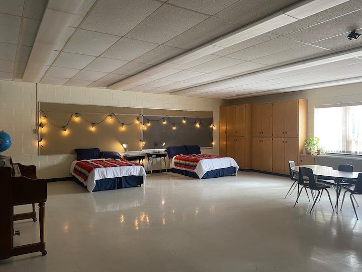 Schoolhouse B&B room #4