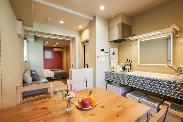 Japanese design new house, 4bed, 3min Asakusa -201