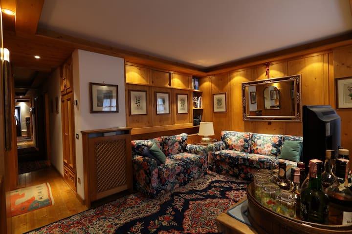 Bellissimo appartamento al centro di Cortina