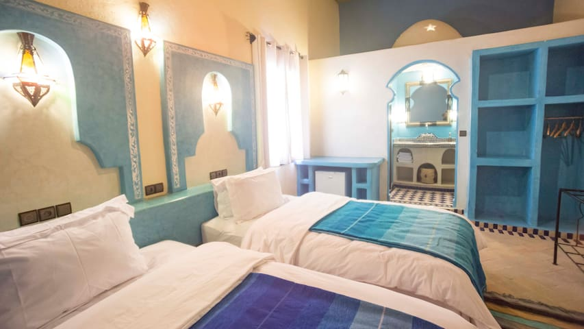 Riad Dar Hassan - Twin Room - Merzouga - Bed & Breakfast