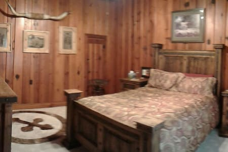 The Longhorn room - Glen Rose - Bed & Breakfast