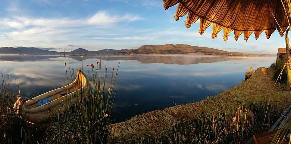 uros waliski lodge - Puno - Ilha