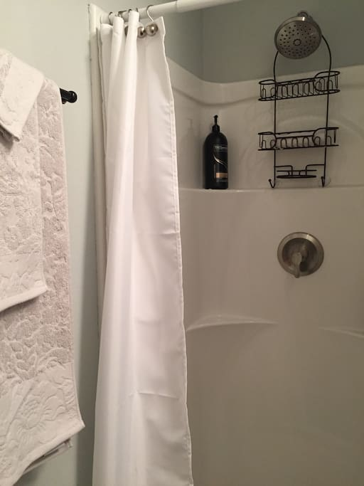 The shower.