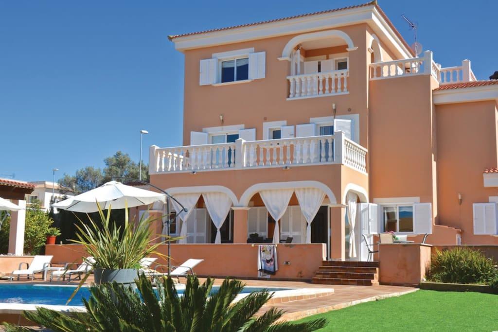 Magnífica casa de vacaciones