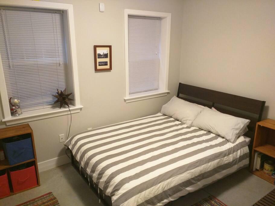 -Bedroom #1 -Medium mattress