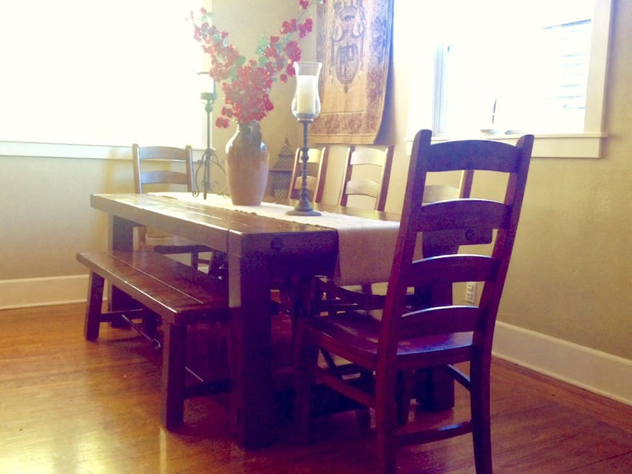 Dining Room with Table for Eight