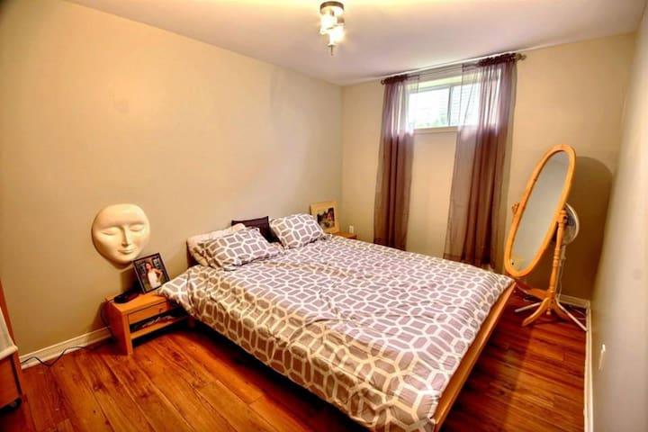 Jolie chambre avec salon privé - Saint-Jérôme - Rumah Tamu