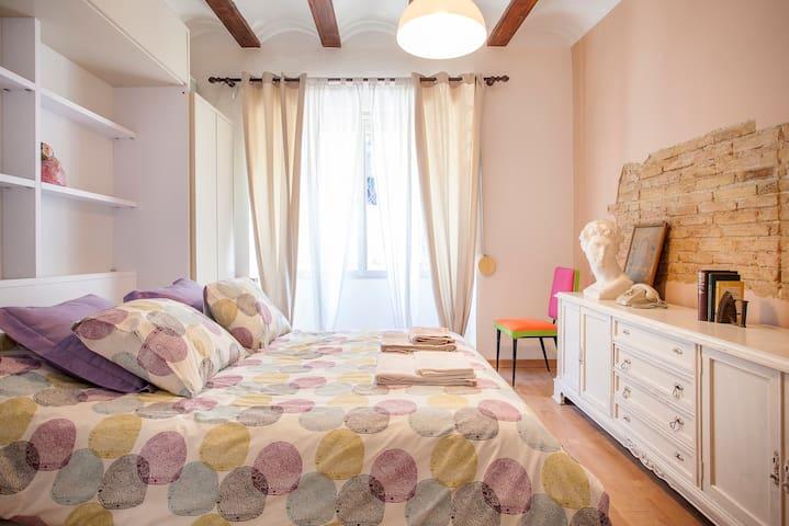 Loft _Centro de Valencia + WIFI - València - Appartamento