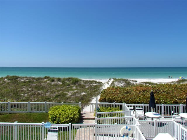 Beachfront on Indian Rocks Beach - Family Fav w/ Pool! Walkable to Best Eats of IRB!