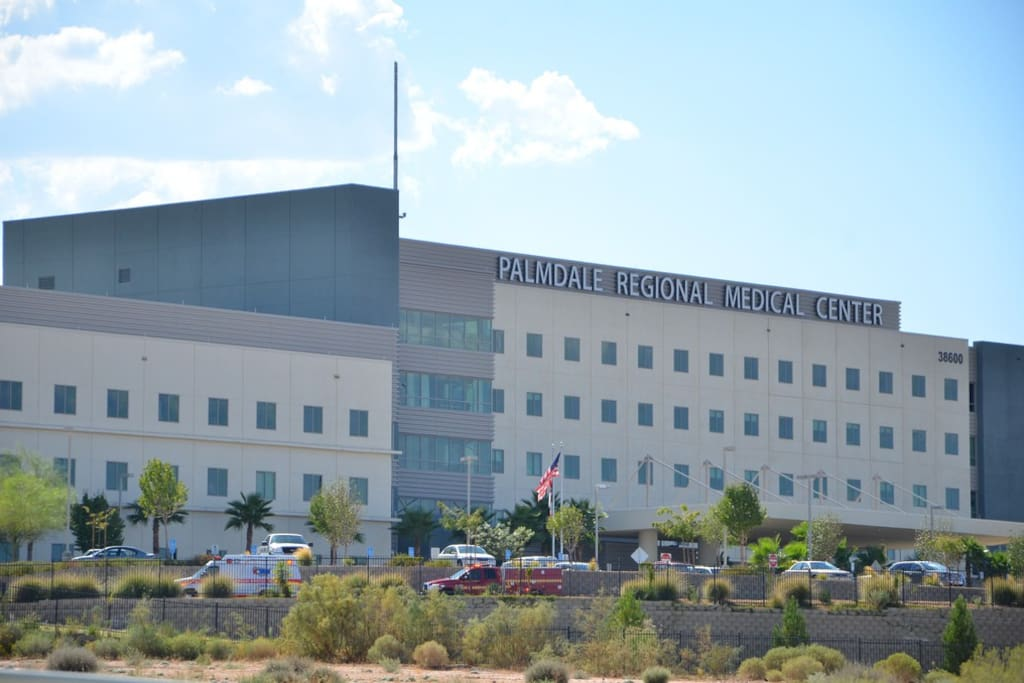 Palmdale Regional Medical Center is 4 minutes away (1 mile).