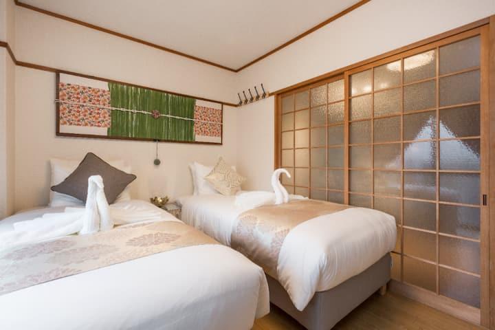 CC5京都2019年12月新開幕 前三個月限時超低早鳥優惠大特價三人房30平方米地點非常好祗園高島屋