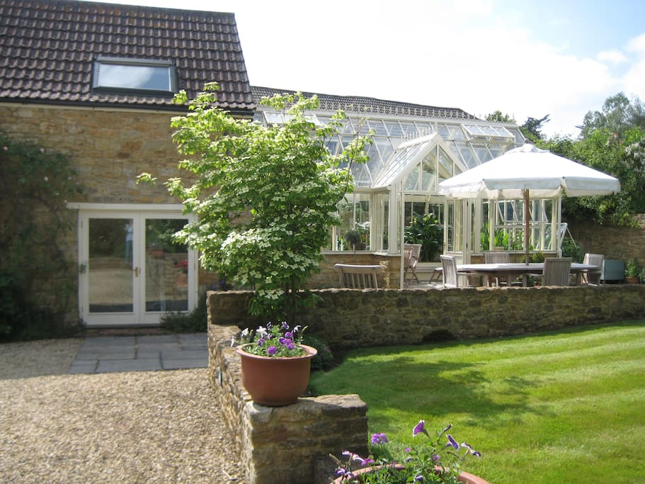 Entrance and Garden Room Conservatory