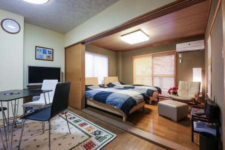 Live in a house in Omotesando. 2BR-DK 45 sqm
