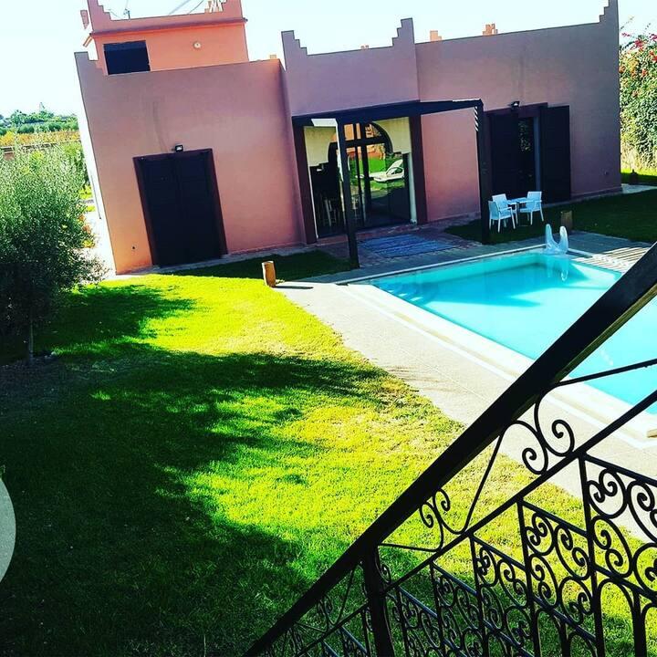 private room in villa Marrakech