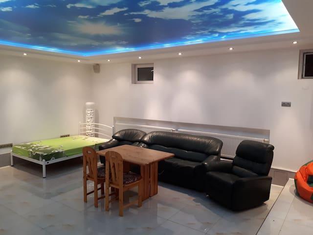 Park Puscha Sauna Deluxe Apartment & Terrace