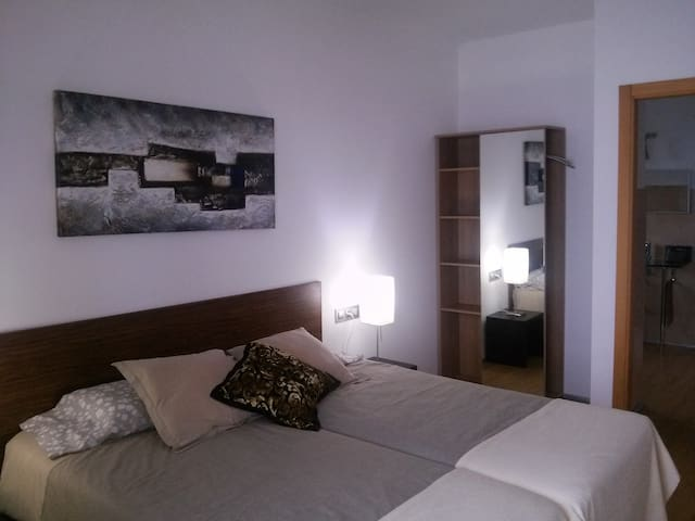 Habitación Nº4 con dos camas.