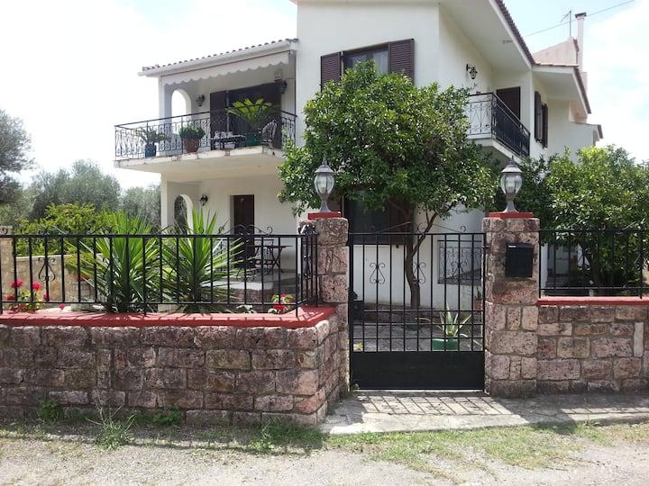 Marathias independent family apartment
