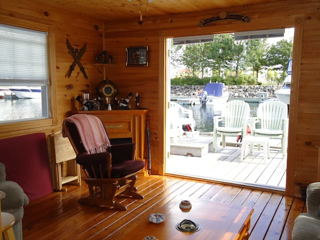 Charlottetown Floating Cottage #1/4