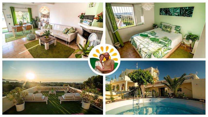 Casa Palmera🌴 Cozy & Modern Seaview Eco Apartment