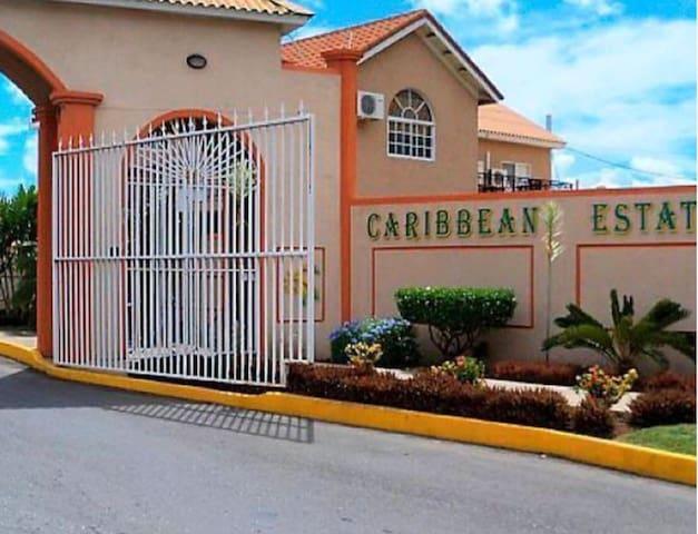 SAFE SECURED 1BR HOUSE IN GATED CARIBBEAN ESTATE.