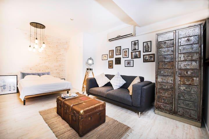 Designed Loft on Tel Aviv Dizengoff Frishman