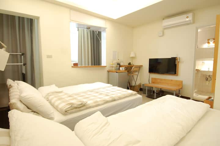 A cozy room in downtown Hsinchu / long stay suite