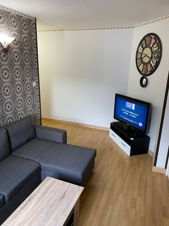 Foch Gare  Joli appartement en Centre-ville