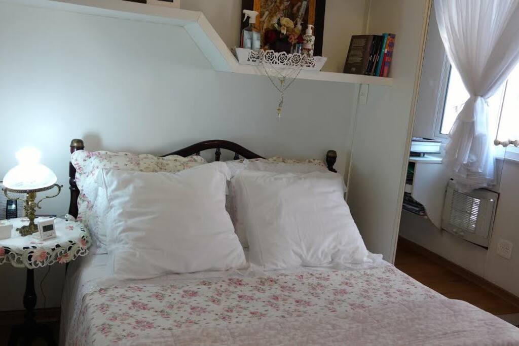 Foto do quarto de casal (double room)