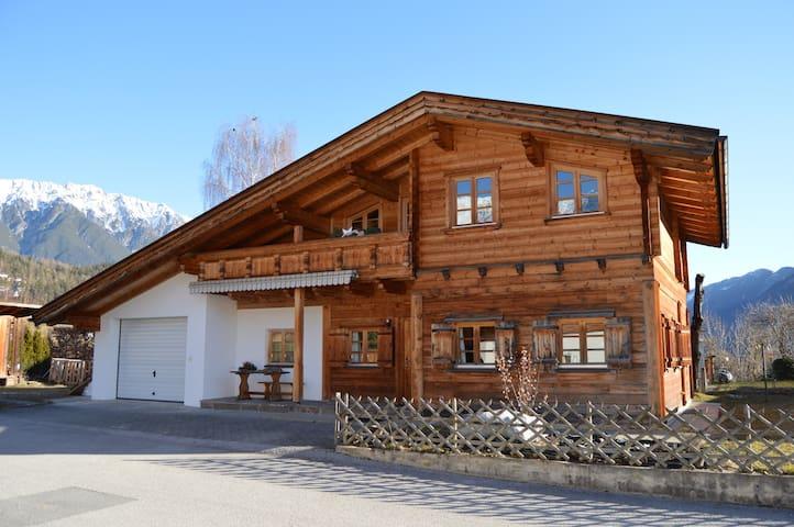 Tiroler Blockhaus Apart. Talblick - Gemeinde Imst - Flat