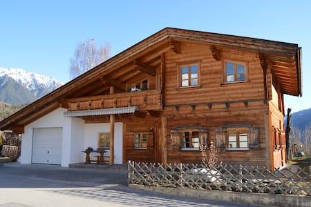 Tiroler Blockhaus Apart. Talblick - Gemeinde Imst