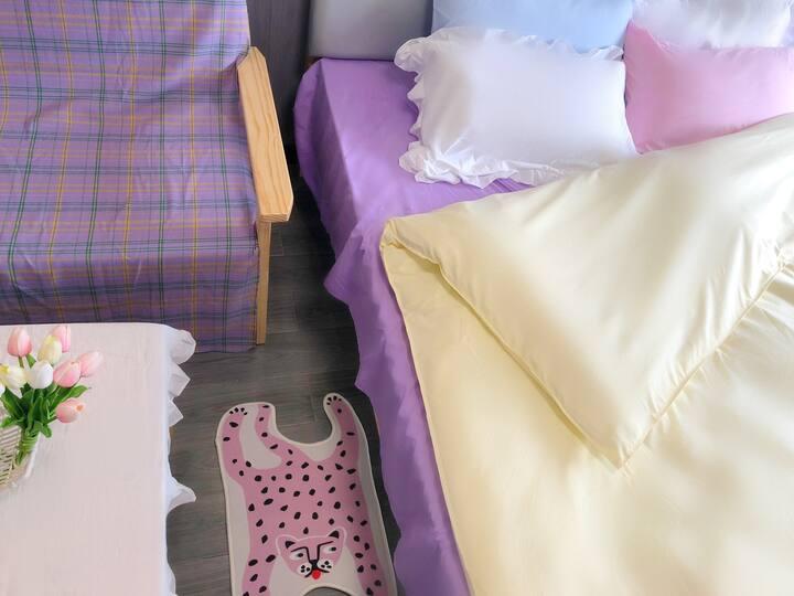 网红少女大床房