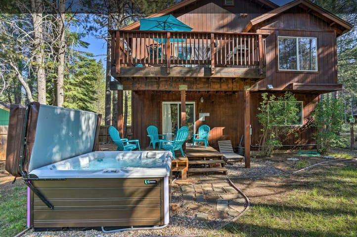 Spacious Mountain Retreat w/ Hot Tub by Heavenly