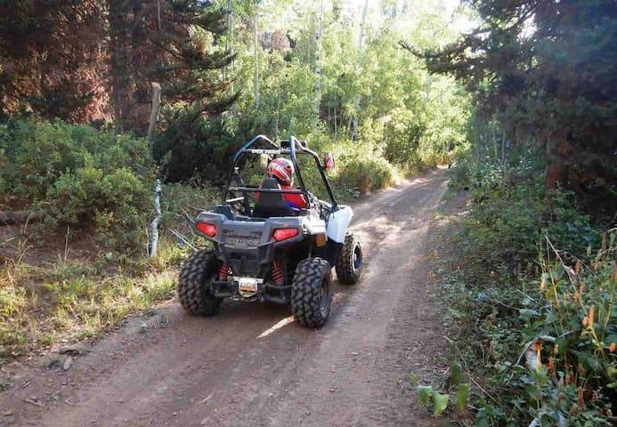 Webbers Motel on ATV Trails