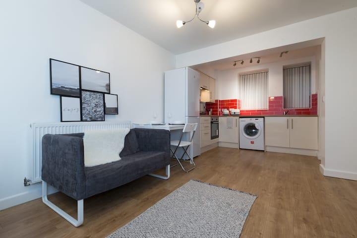 Luxury studio apartment in City center