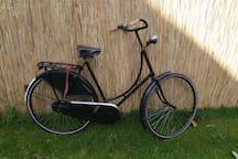 Ervaar het fietsen op deze originele oma fiets!
