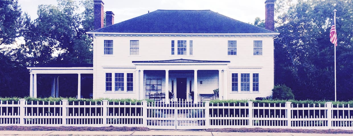 4BR in downtown historic Greer near GSP & BMW