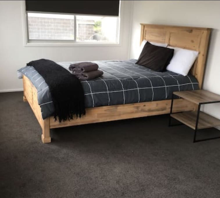 All new extremely comfortable mattresses, bedrooms have built in robes & ceiling fans.
