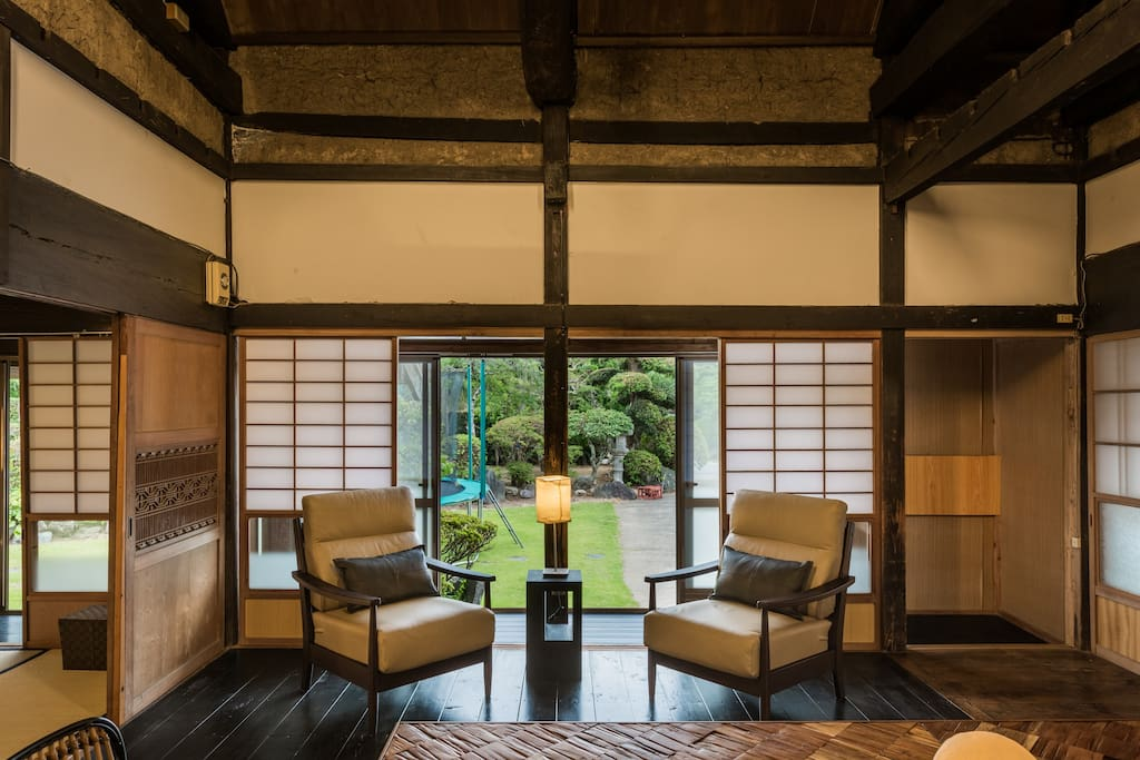 【Private Main Building for 7 people】