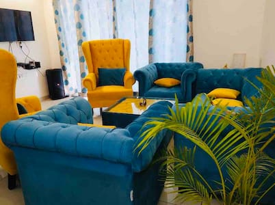 Turquoise Nest in Tri-city - a 2bhk apartment