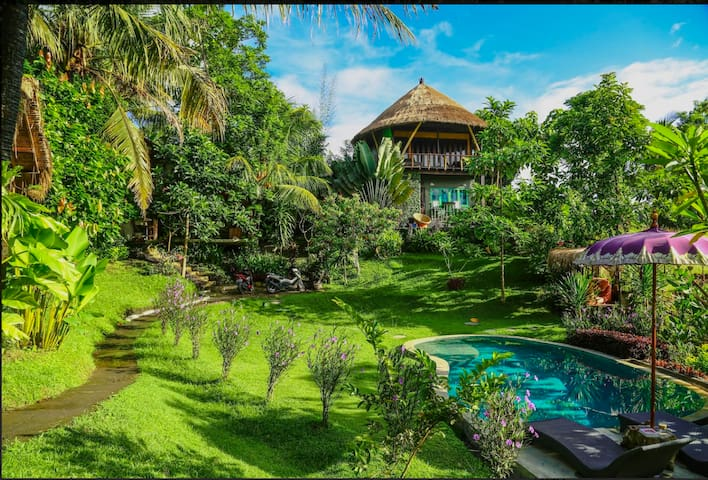 BALIAN TREEHOUSE nr 7 most in-demand Airbnbs(2017)