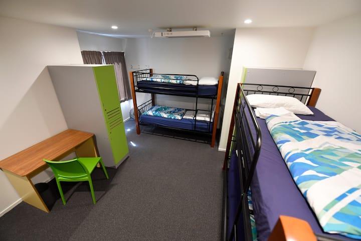 6 Bed Mixed Dorm (Shared Bathroom)- YHA Wellington
