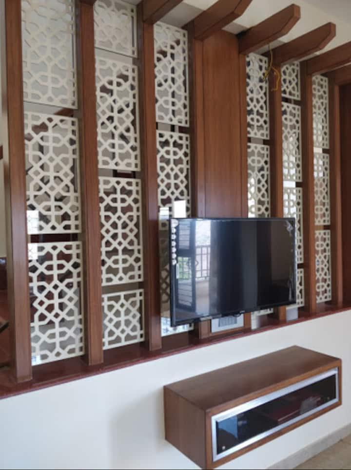Nakshatra Villa lower deck rooms with verandah