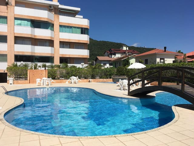 Great apartment at Cachoeira do Bom Jesus beach