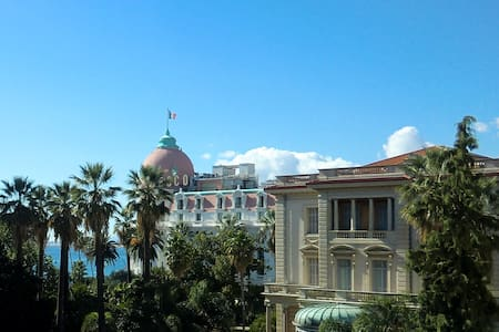 Seaview studio, in the finest part of Nice! - Nice - Apartment