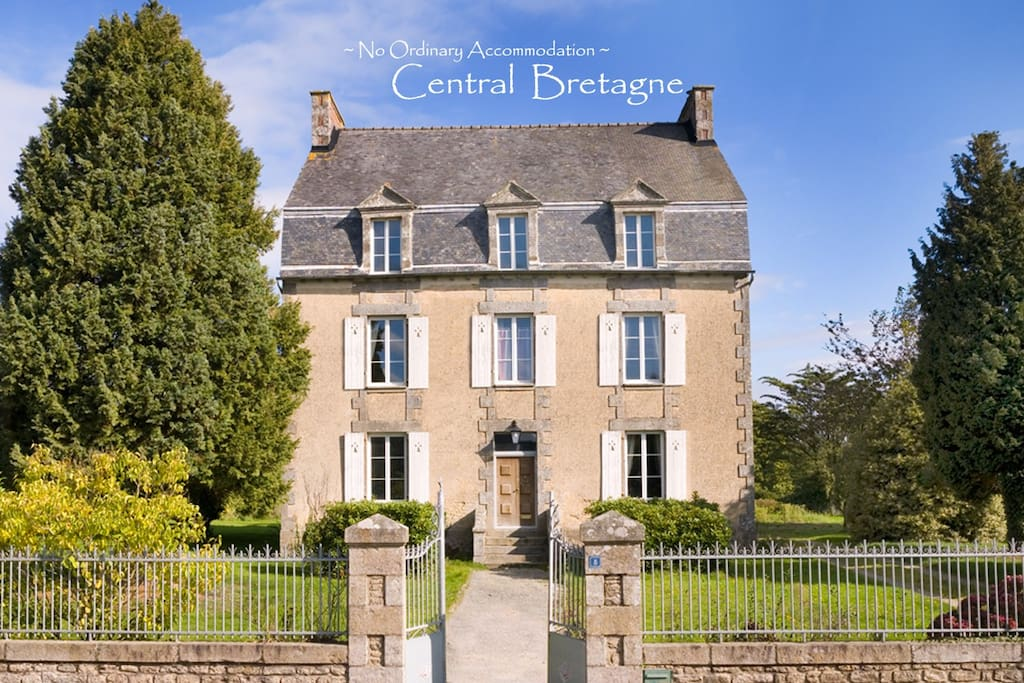 La maison manoir meneac brittany houses for rent in for Acheter maison france voisine geneve