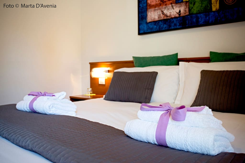 Room relax with kingsize bed